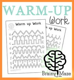 Little ones who are learning to write will enjoy these fun and free tracing worksheets. Children follow the path from the lowercase letter to the uppercase letter in this four page set of handwriting pages. We've used an EZ Read Dyslexia friendly font for children who are just starting to recognize letters. Printing this set …