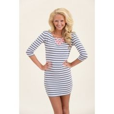 Can't Stop Loving You Dress-Gray - $36.00