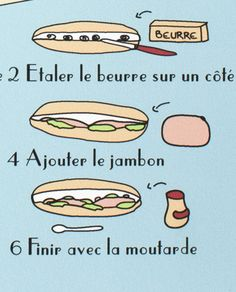 Le sandwich parisien Don't hesitate any longer. Visit http://www.frenchlessonsbrisbane.com.au/homepage and see what options await you with French Lessons Brisbane.