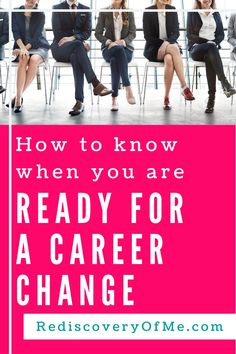 Fed up at work? Looking for a new career? How do you know when you are ready for a career change? Find out how to switch careers in your 20s, 30s, 40s or even 50s. Don't get stuck in a job you hate, learn more about changing careers. Interview Techniques, Job Interview Questions, Job Interview Tips, Career Change, New Career, Career Advice, Unhappy At Work, Hating Your Job, Graduate Program
