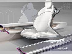 Sketches we liek / Digital Sketch / transportational / Interiour/ at Simkom
