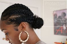 ideas for wedding hairstyles curly natural protective styles Natural Protective Styles, Protective Hairstyles For Natural Hair, Natural Hair Braids, Natural Hair Tips, Natural Curls, African Hairstyles, Afro Hairstyles, Wedding Hairstyles, Natural Cornrow Hairstyles