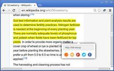 Un petit utilitaire bien pratique pour partager un extrait de texte depuis n'importe quelle page Web. #veille #cm