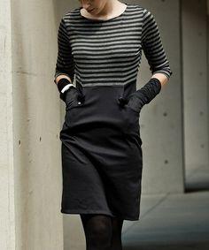 Loving this Black Oh Behave Dress on #zulily! #zulilyfinds