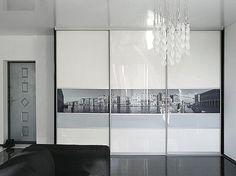 Wardrobe Door Designs, Wardrobe Design Bedroom, Closet Bedroom, Bedroom Cupboard Designs, Bedroom Cupboards, Sliding Wardrobe Doors, Closet Doors, Bedroom Built Ins, Mirrored Wardrobe