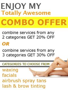 Combo Special Offer (limited time) - combine multiple services and save up to 30%