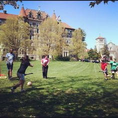 Great day for Quidditch practice!