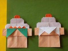 お正月の折り紙 鏡餅の簡単な折り方作り方 後半 - YouTube Origami Easy, Origami Owl, Origami Paper, Origami Christmas Star, New Year Diy, Craft Projects, Projects To Try, Child Day, Holidays With Kids