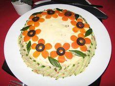 (101) çay saati için görsel ikramlıklar Amazing Food Decoration, Vegetable Decoration, Food Sculpture, Romanian Food, Food Garnishes, Party Snacks, Creative Food, Food Design, Food Art