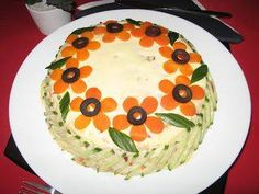 Amazing Food Decoration, Vegetable Decoration, Food Sculpture, Romanian Food, Food Garnishes, Party Snacks, Creative Food, Food Design, Food Art