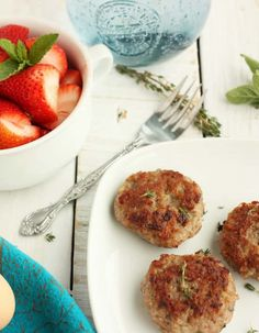 Whole30 compliant Homemade Breakfast Sausage is so simple and delicious. You can't beat the flavor or quality of making breakfast sausage yourself. Homemade breakfast sausage is one of the easiest make-ahead and freeze foods you can make for an easy morning. #sustainablecooks #breakfast #whole30 #sausage