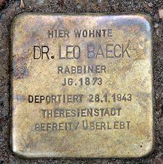 leo baeck - Google Search