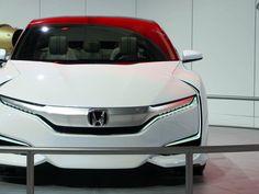 #Honda unveils a hydrogen-powered concept...