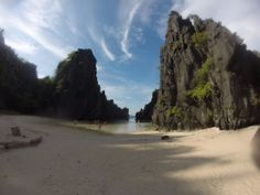 """dernier spot de la journée, pas mal!"" by TravelPod blogger marco-2010 from the entry ""El Nido!"" on Wednesday, May 18, 2016 in El Nido, Philippines Les Philippines, Blog Entry, Wednesday, Beach, Water, Travel, Outdoor, Gripe Water, Outdoors"
