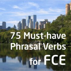 75 Must-Have Phrasal Verbs for the FCE, CEFR level English, English exam vocabulary, word list for CEFR, English English - Memrise English Exam, English Tips, English Idioms, English Study, English Class, English Grammar, Teaching English, Learn English, English Language