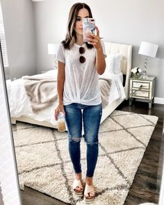 Simple & cute casual outfit | Perfect outfit for running errands