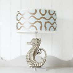 Sea Horse Lamp - Table Lamps - Lighting - Lighting & Mirrors
