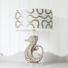 Sea Horse Lamp - Table Lamps - Lighting - Lighting & Mirrors