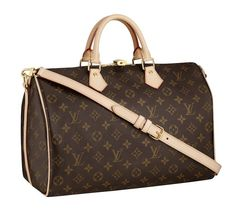 Louis Vuitton Speedy 30 w/shoulder strap - One of the best bags ever!