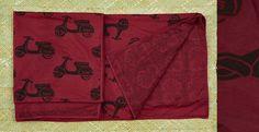 #Chhapa #Singlebedquilt #homedecor #purecotton #scooterprint #maroon #black  #gaatha #80 x 58  #handmade #blockprinted #madewithlove #sustainablefashion