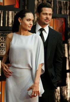 Brad Pitt and Angelina Jolie at The Critics' Choice Awards