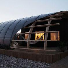 伝統的な設計と最新のエコ技術を活用してスウェーデンの学生が考えた学生の家「HALO」 | 未来住まい方会議 by YADOKARI | ミニマルライフ/多拠点居住/スモールハウス/モバイルハウスから「これからの豊かさ」を考え実践する為のメディア。