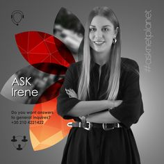 Do you want Answers to General Inquires? Ask Irene! Call Us Now: 210 4221422 Digital Marketing Strategist, Digital Marketing Services, Marketing Tools, Social Media Marketing, Web Design Agency, Web Design Company, Customer Support, Irene, Brand Identity