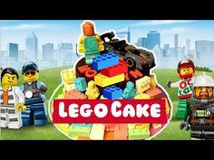 How To Make A Simple LEGO CAKE   Lego Chocolate Cake - YouTube White Chocolate, Chocolate Cake, Lego Cake, Cake Youtube, Cake Creations, Have Fun, Cakes, Simple, How To Make
