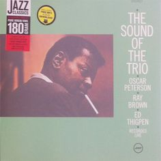 Oscar Peterson Trio The The Sound Of The Trio Vinyl LP