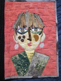 du fil et des couleurs: livre textile : galerie de portraits