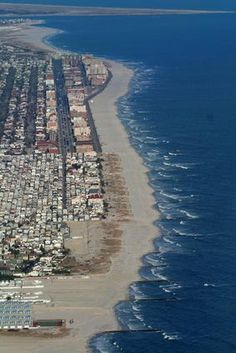 Long Island Beach in New York
