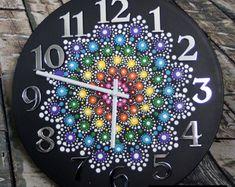 Bijou goutte Mandala horloge