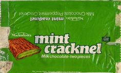 Mint Cracknel - I loved this as a kid.Was the best ! 70s Sweets, Vintage Sweets, Retro Sweets, Retro Food, 1970s Childhood, My Childhood Memories, Sweet Memories, Memories Box, British Sweets