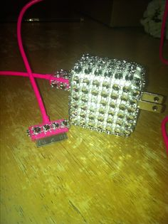 My bling phone charger!