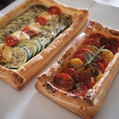 Appetizer Dishes, Appetizer Recipes, Creative Food Art, Western Food, Puff Pastry Recipes, Cafe Food, Catering, Bakery, Food And Drink
