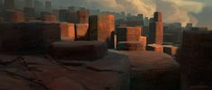 Spent my spare time last week to work on improving my process for sketching environments.