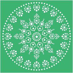 Dot arthome decor kitchen decorgift for hersvg Rock Painting Patterns, Dot Art Painting, Rock Painting Designs, Mandala Painting, Stencil Painting, Mandala Dots, Mandala Pattern, Pattern Art, Dot Patterns