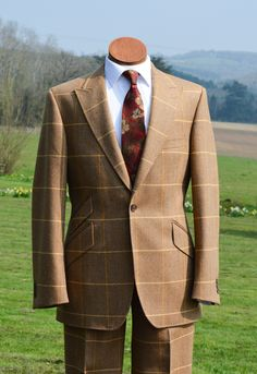 Callow Tweed Suit - Bookster Tailoring