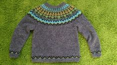 My first icelandic sweater Icelandic Sweaters, Wool Sweaters, Knitting Machine Patterns, Free Knitting, Pullover, Quilts, Sewing, Fashion, Craft Work