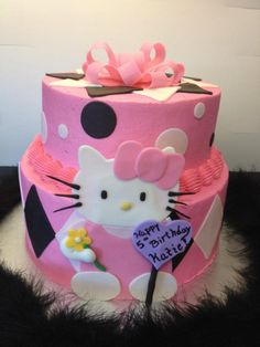 Katie's Hello Kitty Cake