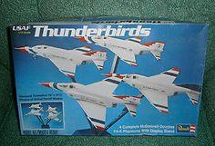 Vintage 1973 Revell 1/72 Scale Model Thunderbirds,Mcdonnell-Douglas F4-E Phantom. $7.99