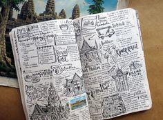 bullet — aurum-restituo: betype: Travel Diaries:...