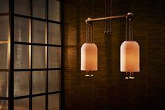 Apparatus looks to Wiener Werkstätte for 2017 furniture and lighting collection Lantern Chandelier, Lantern Pendant, Pendant Lamp, Pendant Lighting, Lanterns, Lantern Lighting, Interior Lighting, Lighting Design, Hotel Panache