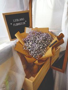 Purple Baby Bouquet Baby Bouquet, Purple Baby, Fresh Flowers, How To Dry Basil, Herbs, Breakfast, Food, Morning Coffee, Essen
