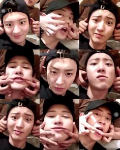 Park Chanyeol chanyeol Family Love On Chanbaek, Chansoo, Do Kyung Soo, Baekhyun Chanyeol, K Pop, Taekook, Exo 2017, Kpop Exo, Funny