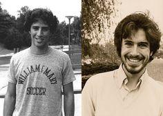 Young Jon Stewart & Stephen Colbert.