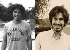 Younger Jon Stewart and Steven Colbert.  I think my heart may explode out of my chest.