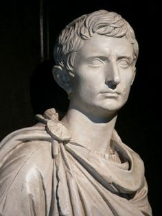 """Octavian Augustus Caesar 63 BC – 19 August 14 AD -  Octavian, reformed the Republic as a Principate, with himself as Rome's """"first citizen"""" (princeps).  he is customarily called the first Roman Emperor."""