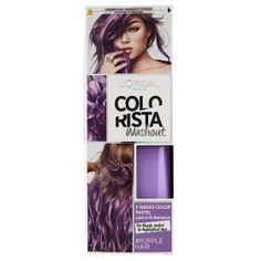 L oreal - Colorista Washout 2 Weeks - Colorazione Temporanea 80 ml Purple - Farmacosmo