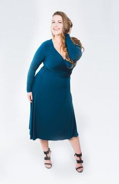 Kiara Teal Dress Wrap Over Dress, Classic Chic, Cold Shoulder Dress, Teal, Dresses For Work, Spring, Collection, Women, Style